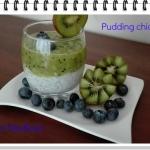 Pudding chia z kiwi