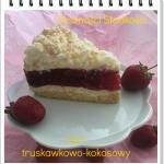 Tort truskawkowo-kokosowy