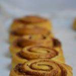 Cynamonki- Cinnamon rolls...