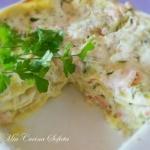 Wiosenne lasagne z wedzon...