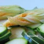 Zucchine fritte in...