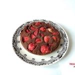 Ciasto fasolowe z truskaw...