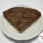 Tarta jaglana z brownie...