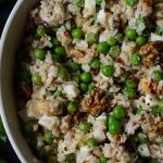 Salatka z groszkiem i ryz...