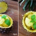Sorbet z ananasa