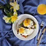 Grzanka z jajkiem...
