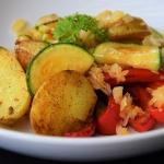 smażone ziemniaki w...