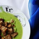 Zupa krem z zielonego gor...