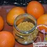 Sproszkowana pomarańcza...