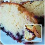 ciasto z owocami  gotowe...