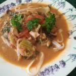 Tajska zupa z czerwonym...