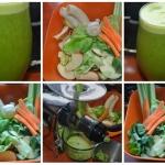 zielony sok z lisci...