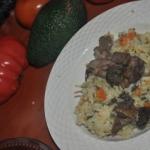 pyszne risotto z warzywam...