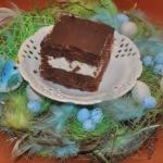 ciemne ciasto z wisniami...