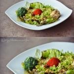 Salatka z orzechami i kul...