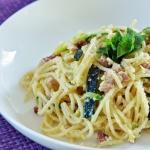 Spaghetti carbonara z...
