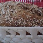 Sezamowy chleb na...