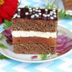 Ciasto Słodka Frezja