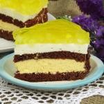 Tort ananasowo- smietanow...