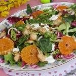 Salatka z mandarynkami, k...