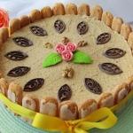 Tort orzechowo-...