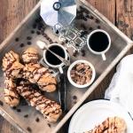 Eklerki z kremem kawowym