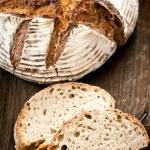 Chleb zytni na zakwasie z...