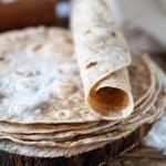 Domowe placki tortilla z...