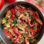 Stir fry z indyka / Turke...