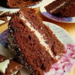 Czekoladowe ciasto z budy...