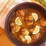 Kurczak w sosie cytrynowy...