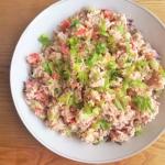 Ryzowa salatka z tunczyki...