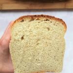 Chleb tostowy z wodą z...