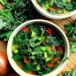 Zupa wiosenna z zielonych...