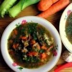 Zupa grzybowa z kasza jec...