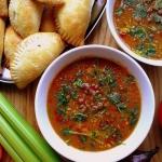 Pikantna zupa z soczewicy...