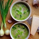 Kremowa zupa brokulowa / ...
