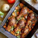 Kurczak w pomidorowej mar...