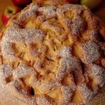 Biszkopt z jablkami