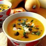 Kremowa zupa z dyni...