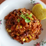 Chili con carne z indyka