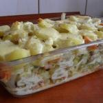 Zapiekanka z ziemniakami ...