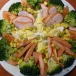 sałatka z brokułami i...