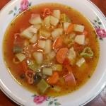 włoska zupa...