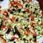 warzywa pod serową...