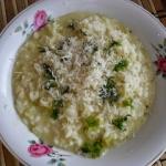 białe rizotto