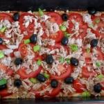 pizza z tuńczykiem i...