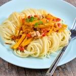 Spaghetti z dynią