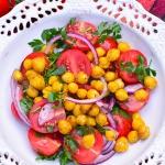 Sałatka z pomidorkami i...