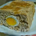 Pieczen rzymska z jajkami...
